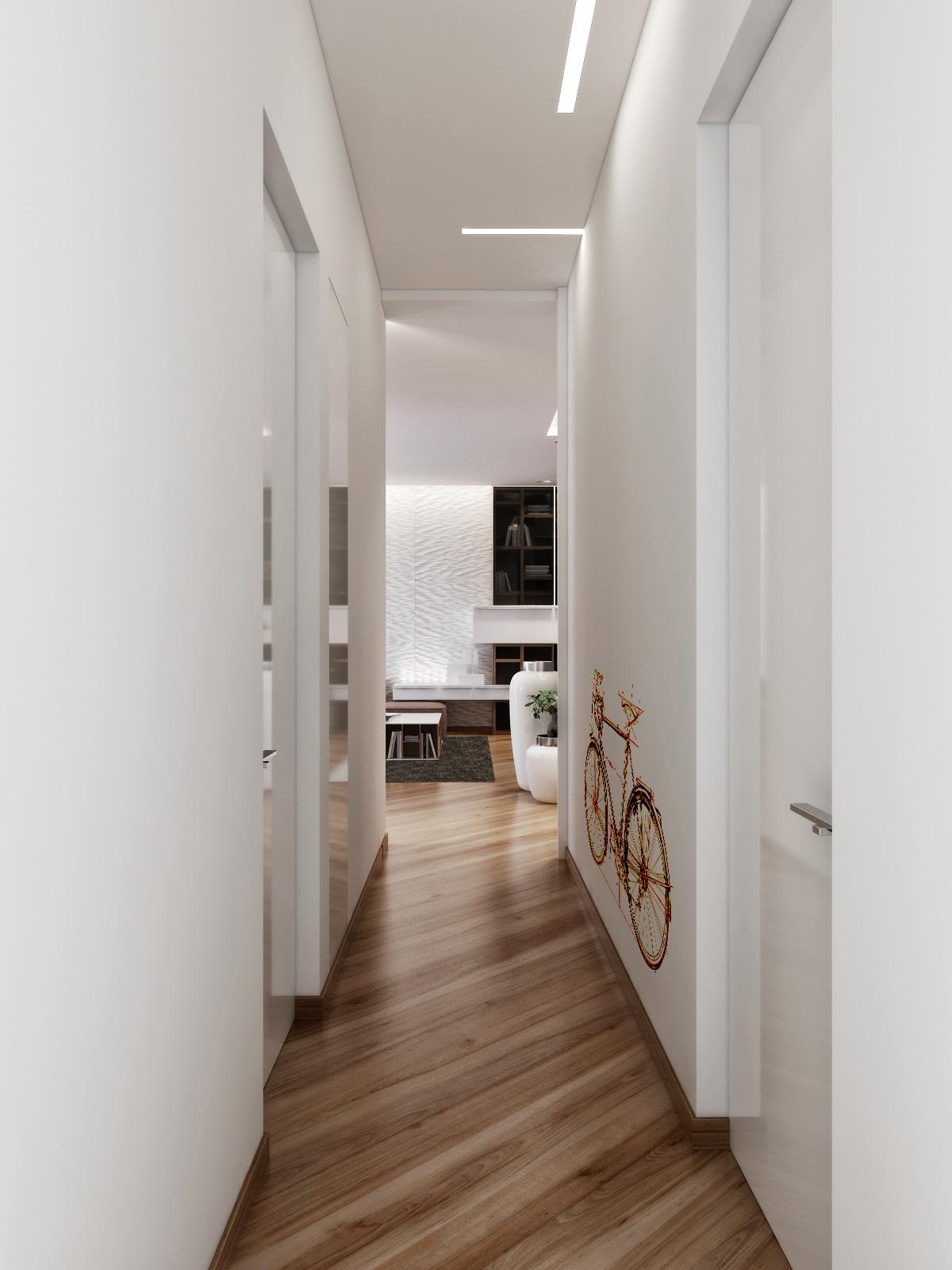 20+ Modern Home Corridor Design That Inspire You | Дизайн ... |House Corridors