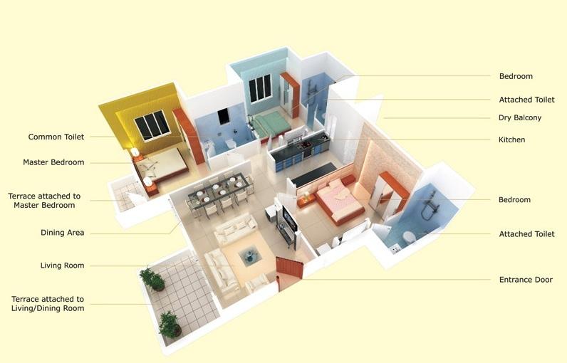 Efficient 3 Bedroom Home Plans Interior Design Ideas
