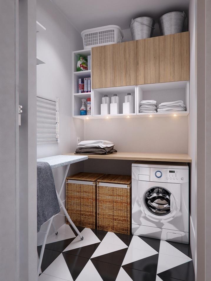 efficient laundry room | Interior Design Ideas.