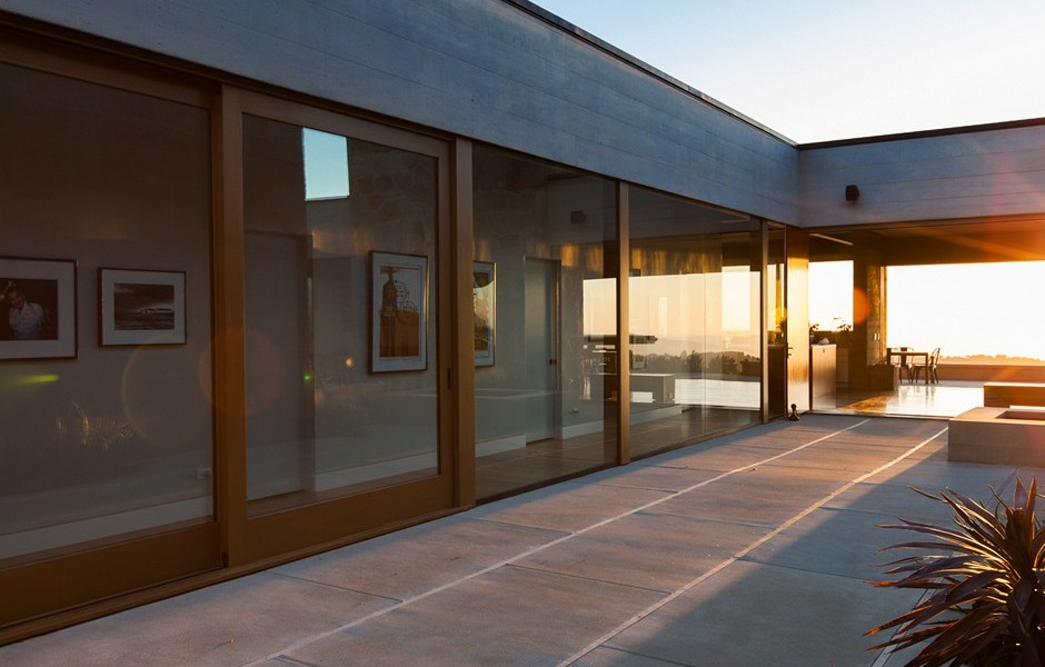 House with water feature a modern architectural masterpiece in california
