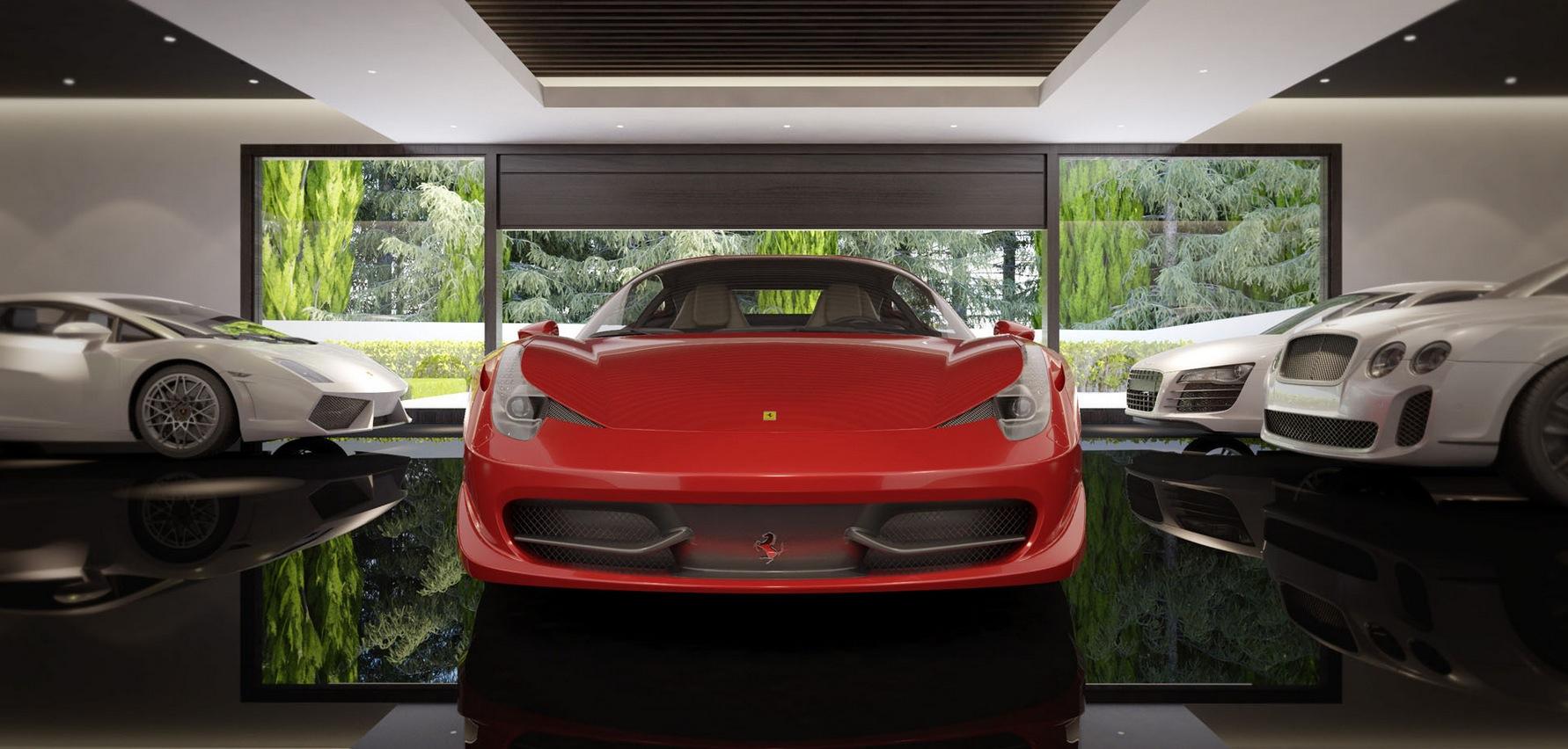 Luxury Garageinterior Design Ideas