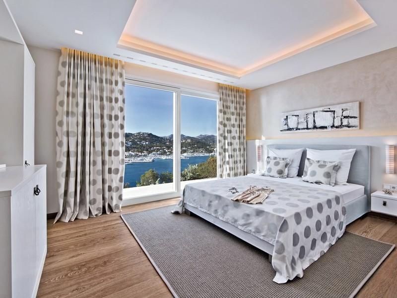 Beautiful spanish villa with views of port dandratx