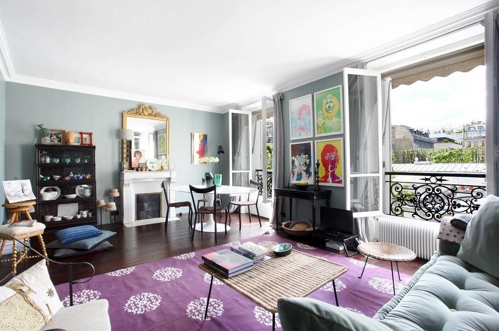 Purple Carpet Livinginterior Design Ideas
