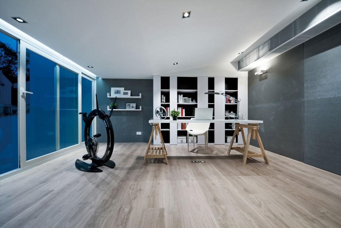 Sleek home office