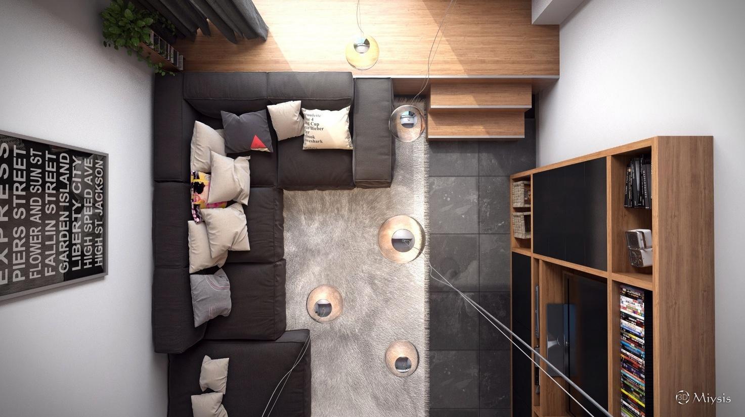 How To Make A Small Living Room Look Bigger Loft Design Inspiration