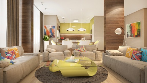 Stylish Family Endangering Features Bright Tropical Colors