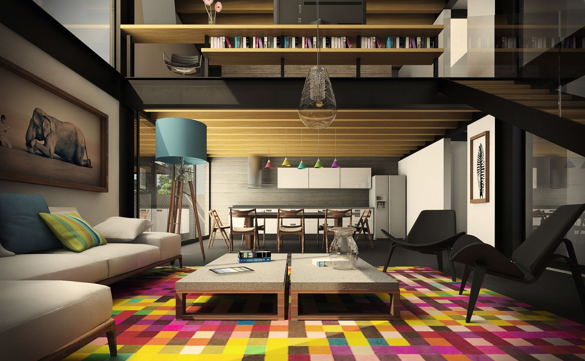wesomely Stylish Urban Living ooms - ^
