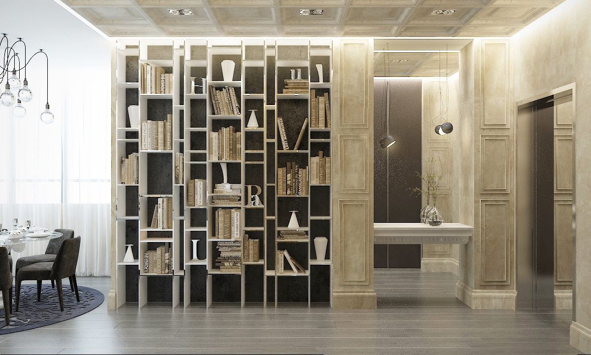 Custom Bookshelves Interior Design Ideas