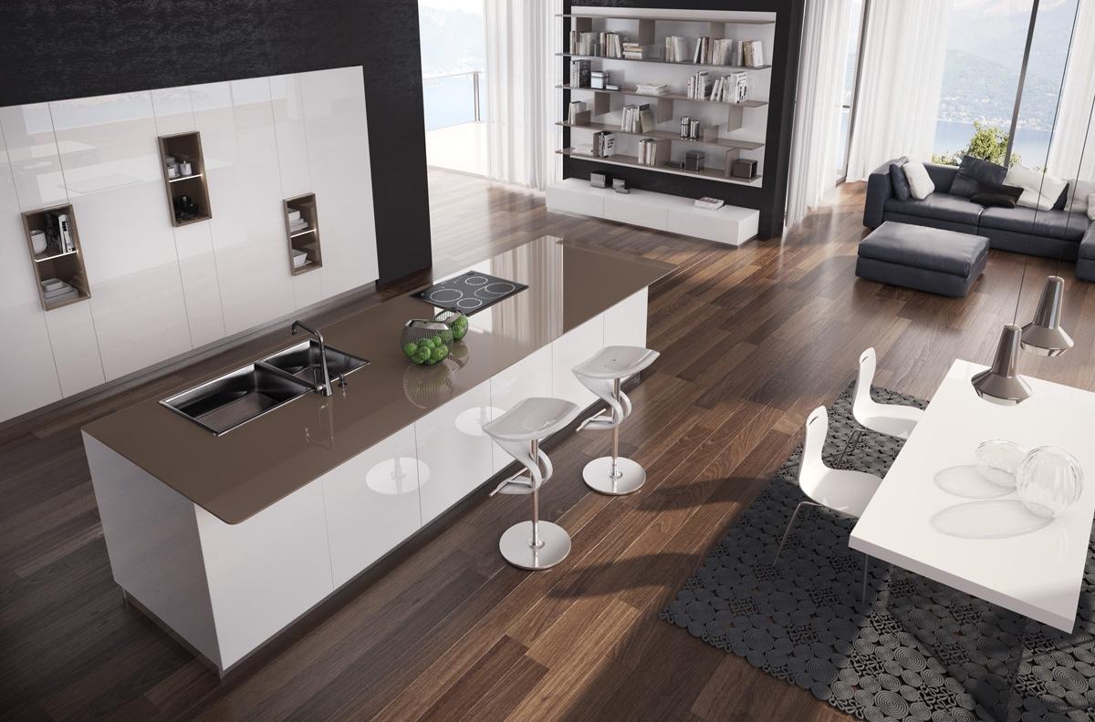 Gorgeously Minimal Kitchens With Perfect Organization