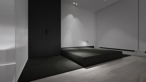 Stark Sharp Amp Minimalistic Interiors By Oporski Architektura