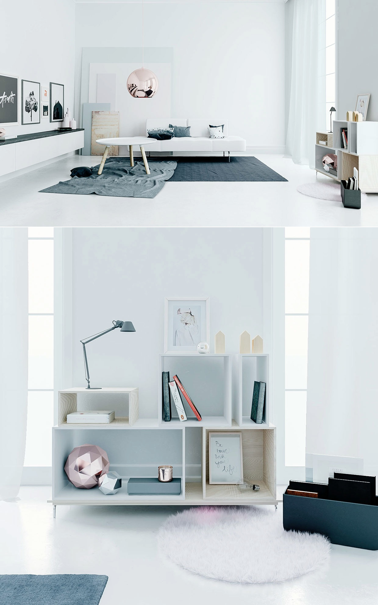 Urban Living Room: Awesomely Stylish Urban Living Rooms