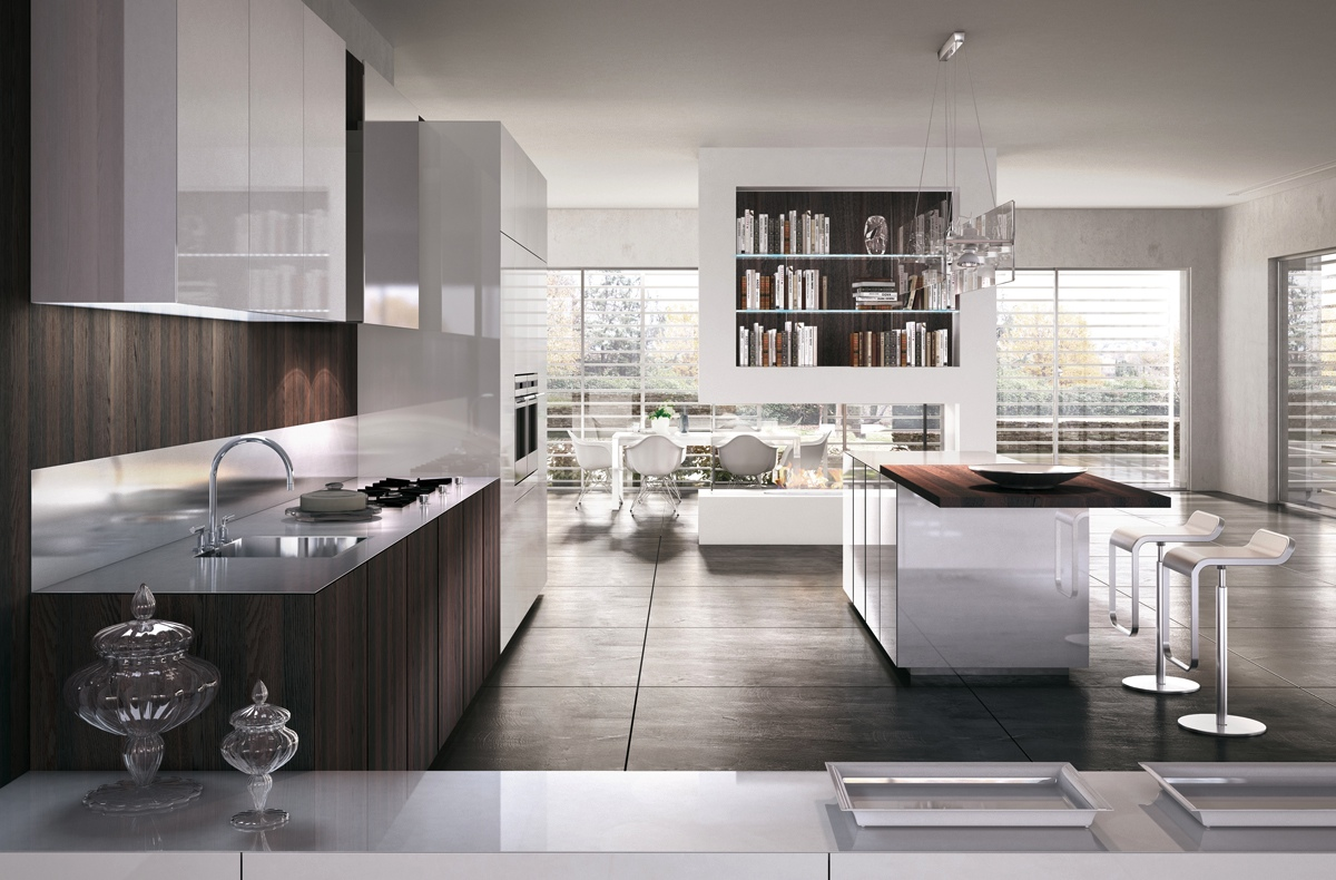 Gorgeously minimal kitchens with perfect organization - Kitchen designs with white cabinets ...