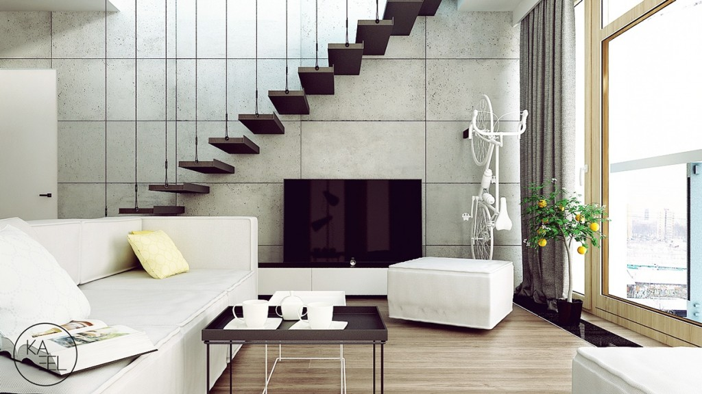 3 breathtaking apartment interiors from the kaeel group