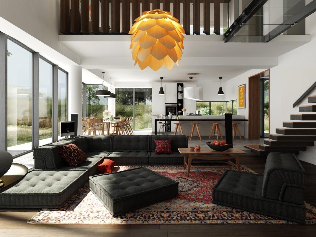 Cool Modular Sofa Interior Design Ideas