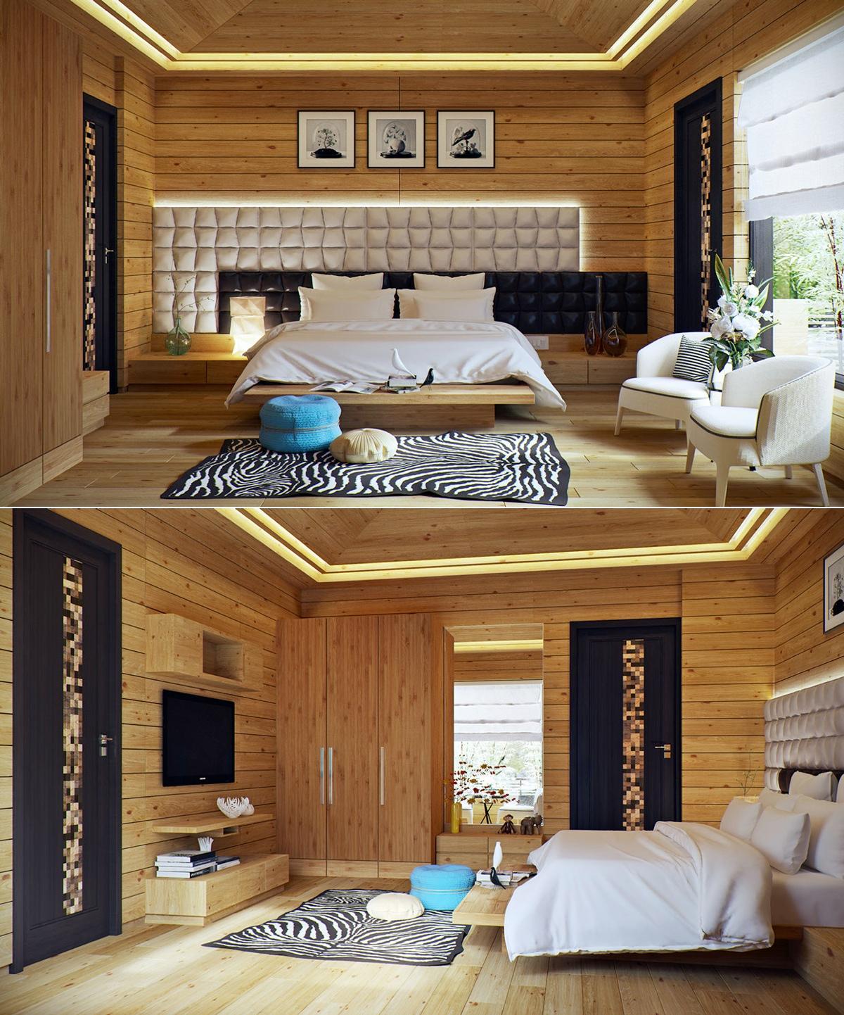 33 Modern Style Cozy Wooden Kitchen Design Ideas: Interior Design Ideas