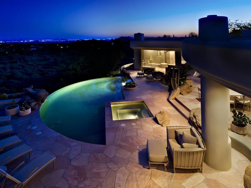 Gorgeous Desert Mountain Retreat With Two Bedroom Guest