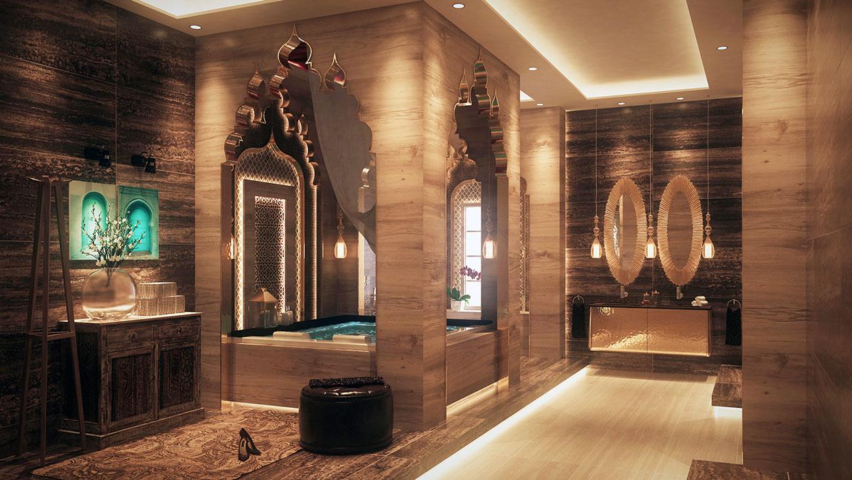 Luxury Home Interiors Bathroom: Luxurious Bathrooms With Stunning Design Details