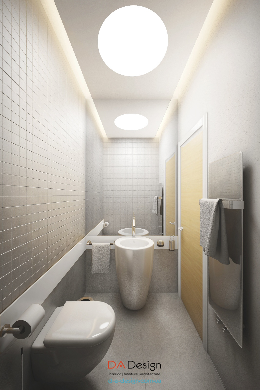 Modern Water Closet Interior Design Ideas