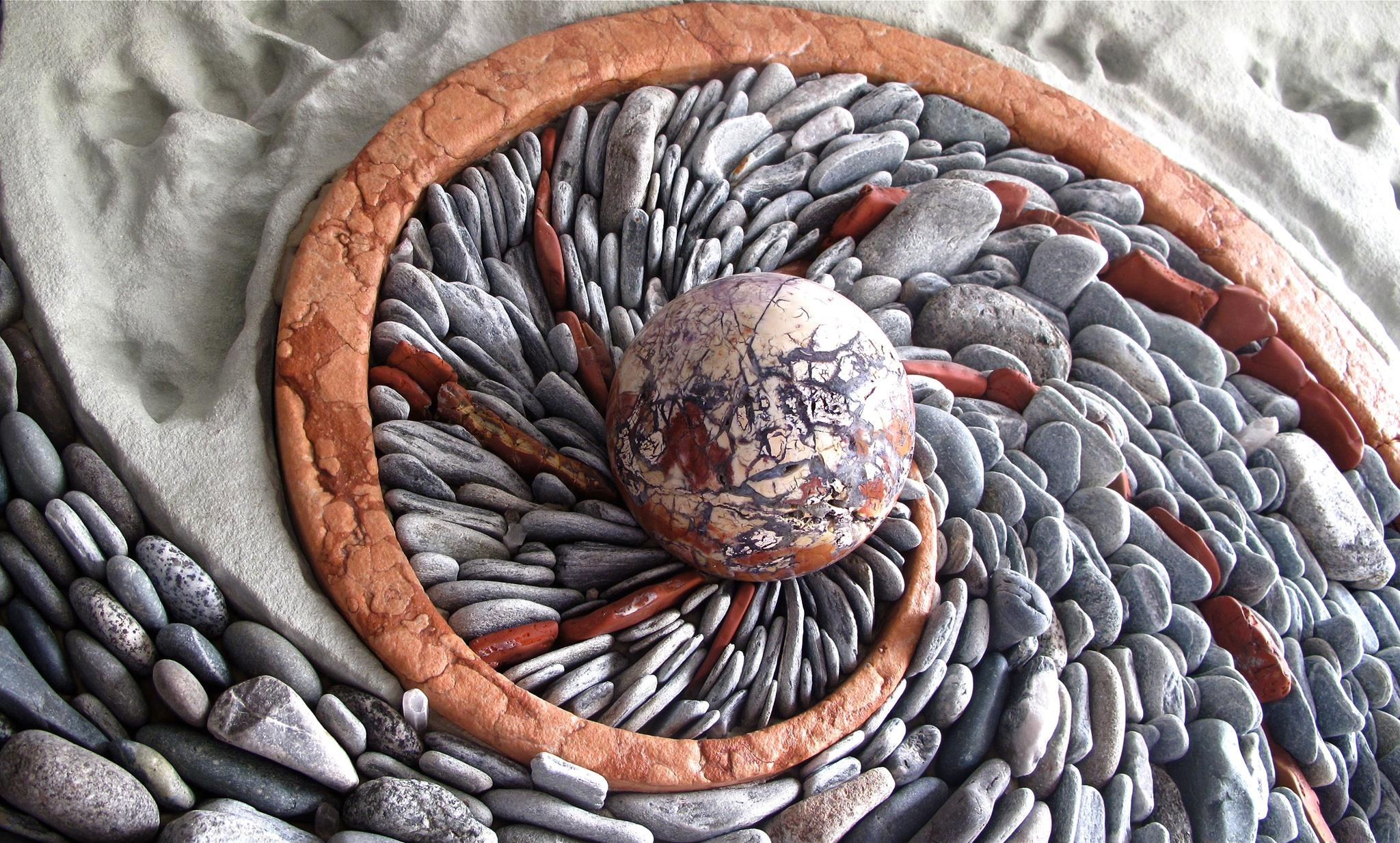 Andy Goldsworthy – Stones – Installation Art Blog |Stone Artwork