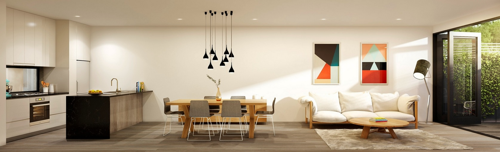 Apartment Decorating Ideas No Matter What Kind Of: Stylish-one-room-apartment
