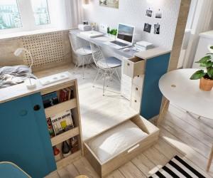 Studio Apartment Storage Solutions   Credainatcon.com