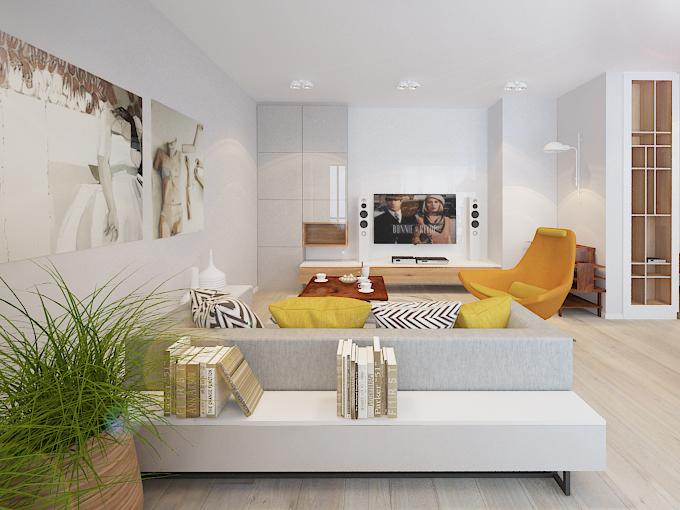Feminine apartment design 5 lovely homes in poland with soft feminine elements