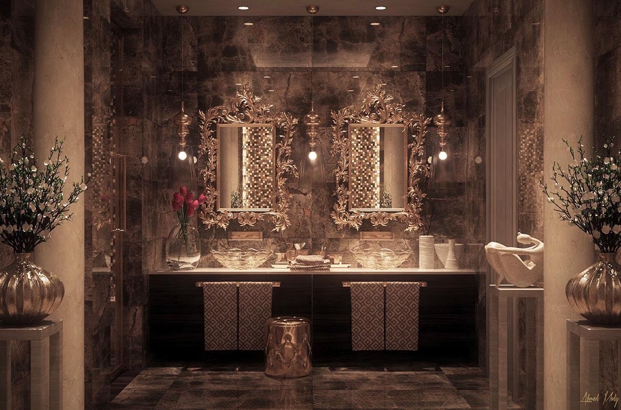 White Master Bedroom Ultra Luxury Bathroom Inspiration