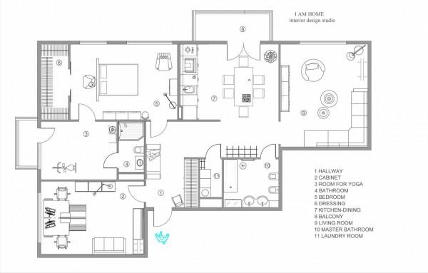 48338d1348167729 Basic Floor Plans Modern Setting: Stylish St. Petersburg Apartment For An Artistic