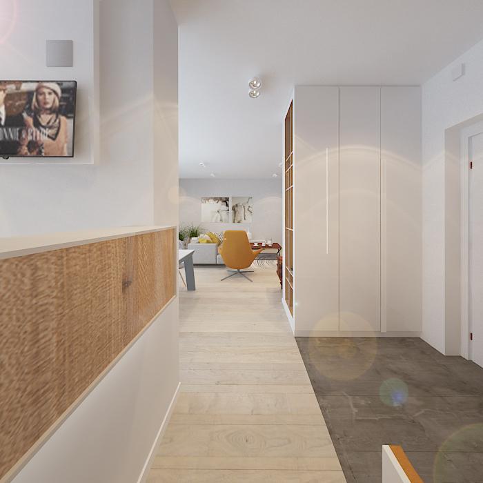 5 lovely homes in poland with soft feminine elements orange design ideas