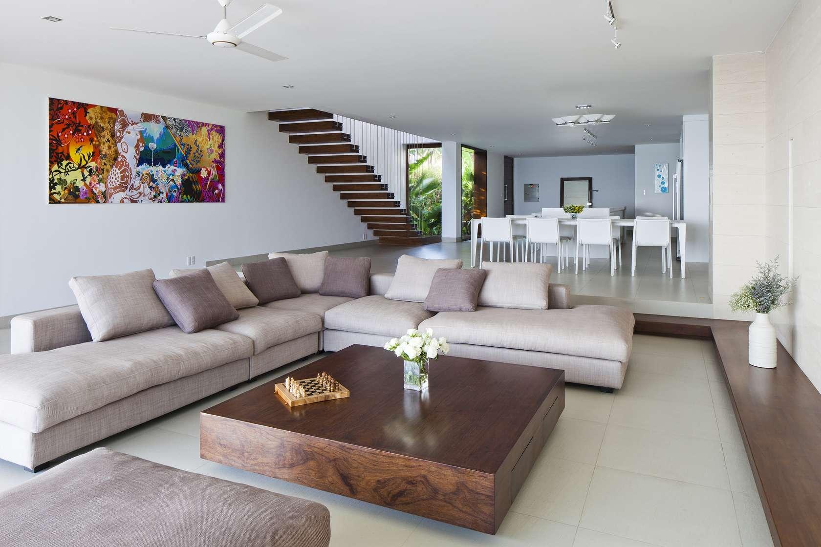 Narrow Deck Furniture Layout