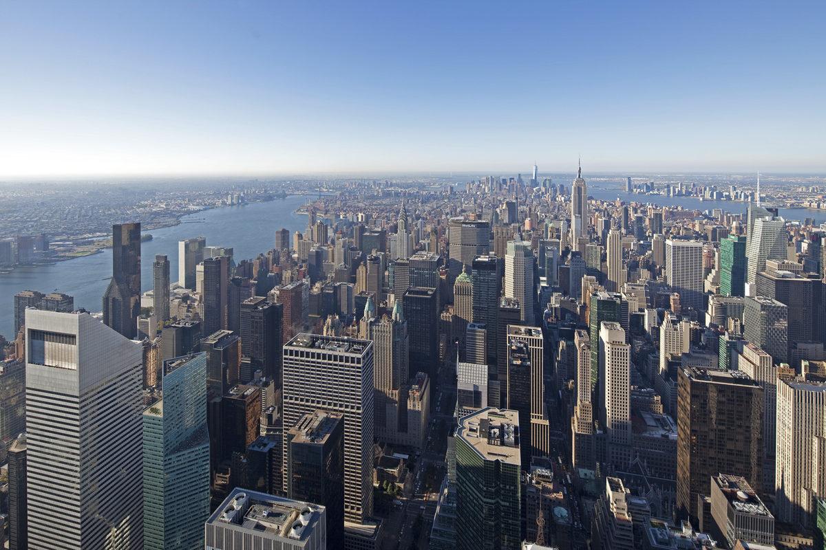 Skyscraper Views Nyc Interior Design Ideas