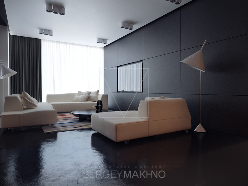 Sleek Living Room Interior Design Ideas
