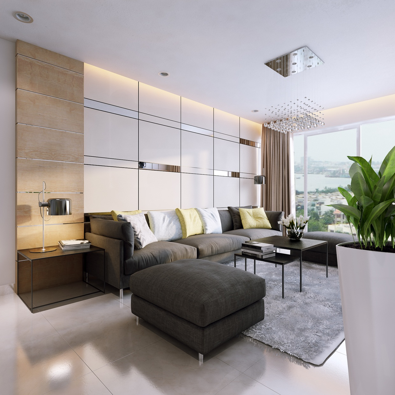 stunningly beautiful  modern apartmentskoj design