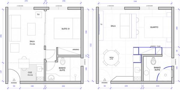 2 super small apartments under 30 square meters. Black Bedroom Furniture Sets. Home Design Ideas