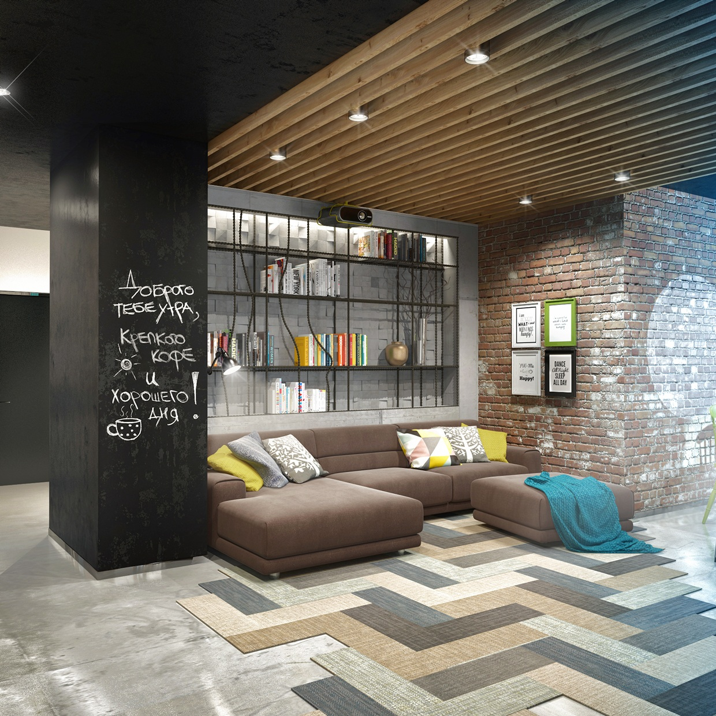 Artist Loft Interior Design Ideas