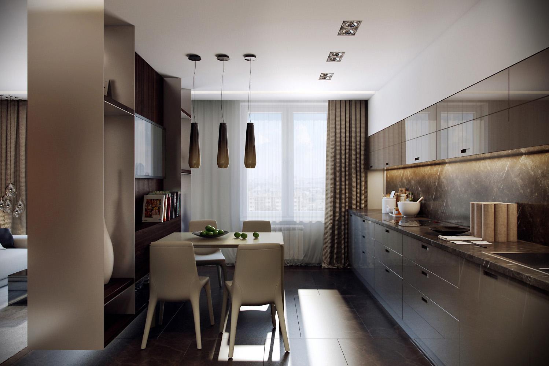 Beige Kitchen Design Interior Design Ideas