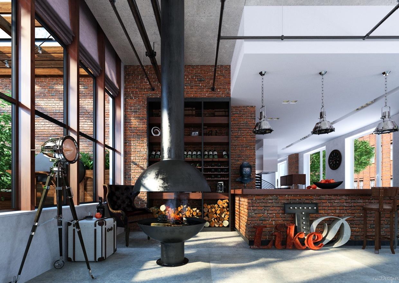 Creative Fireplace Interior Design Ideas
