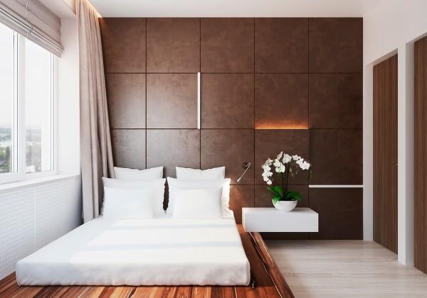 Warm modern interior design - Wood paneling ideas modern ...