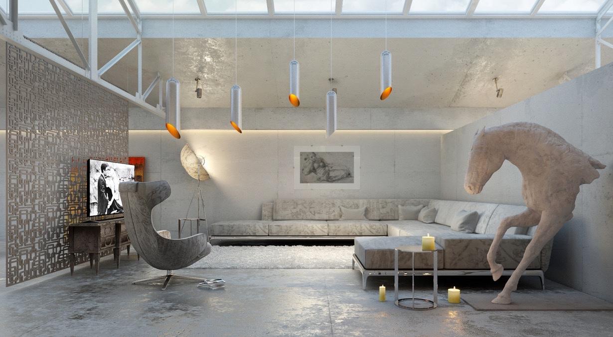 platzsparend ideen relax couchgarnitur, 21 relaxing living rooms with gorgeous, modern sofas, Innenarchitektur