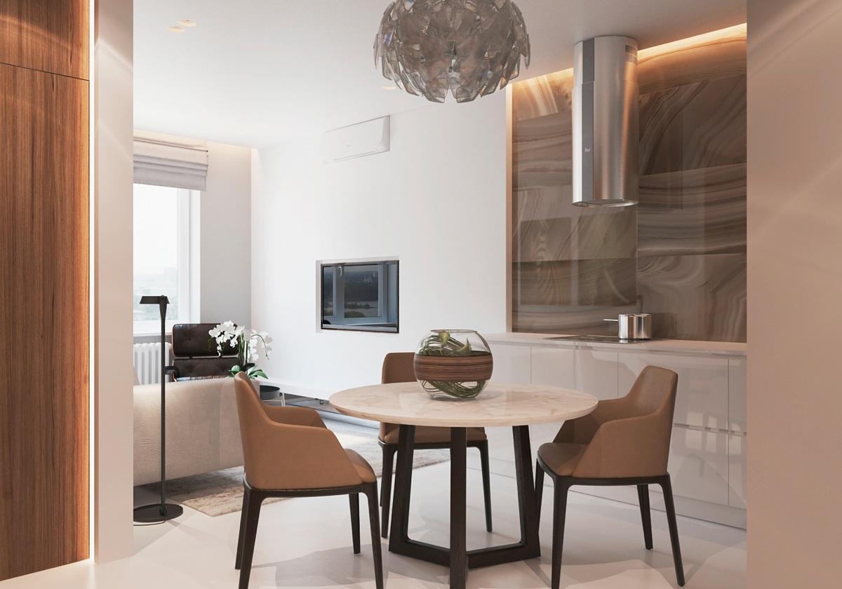 Warm modern interior design - Modern contemporary interior design ...