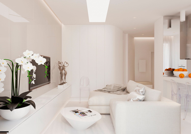 Modern Living Room Decorating: Warm Modern Interior Design