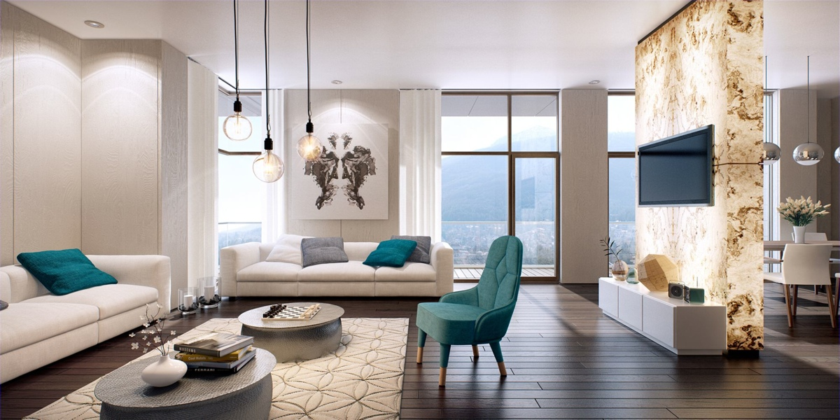 modern teal living room interieur trends 2015 colours on interieur 13754