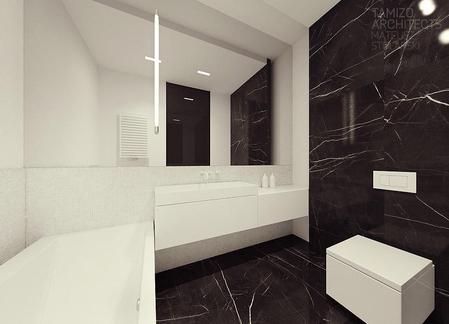 White Square Toilet