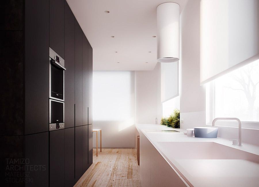 Wood Flooring Kitchen Interior Design Ideas