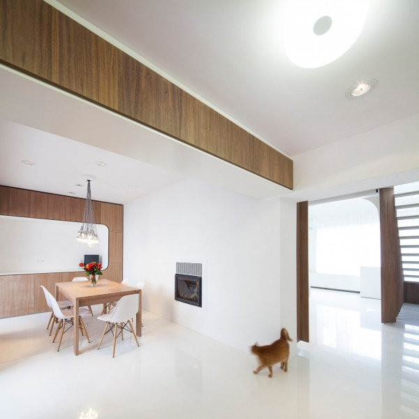 Hungarian Loft Design Uses a Simple Aesthetic for Big ...