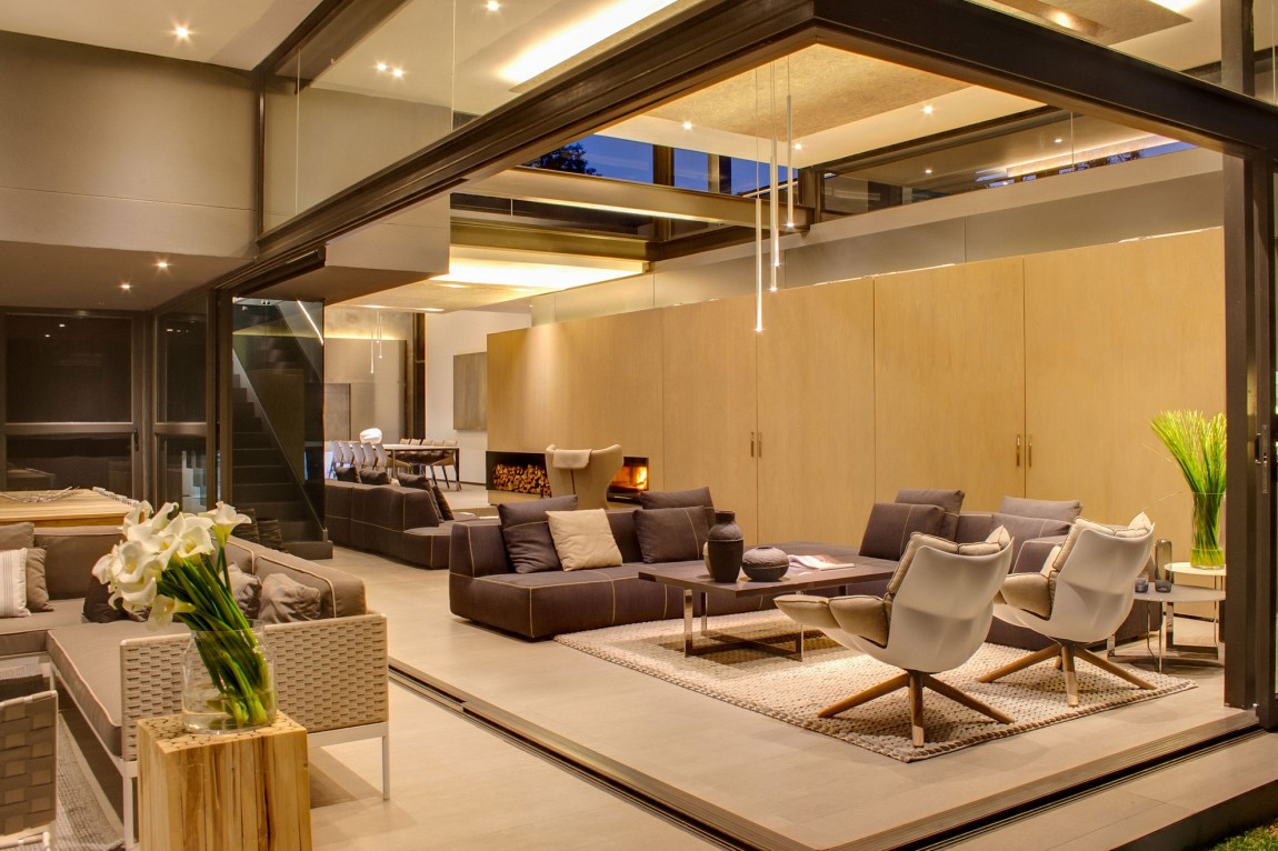 creative renovation gives modern life to an existing frame. Black Bedroom Furniture Sets. Home Design Ideas