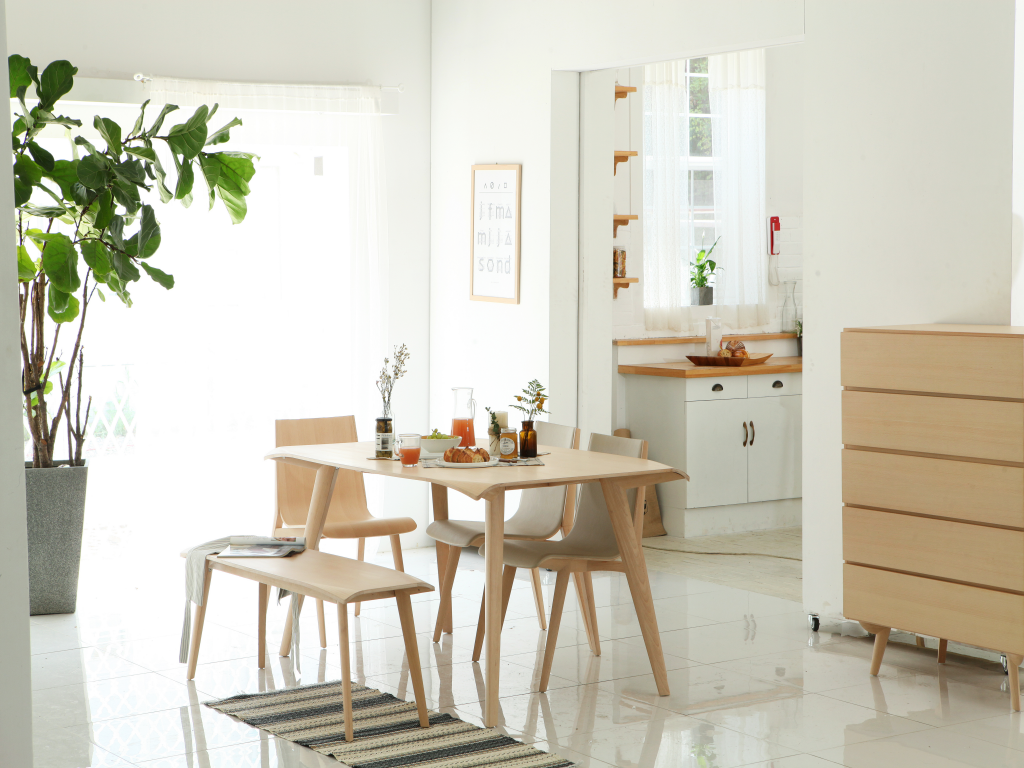 28 Simple Dining Room Ideas For A Stunning Inspiration: Korean Interior Design Inspiration