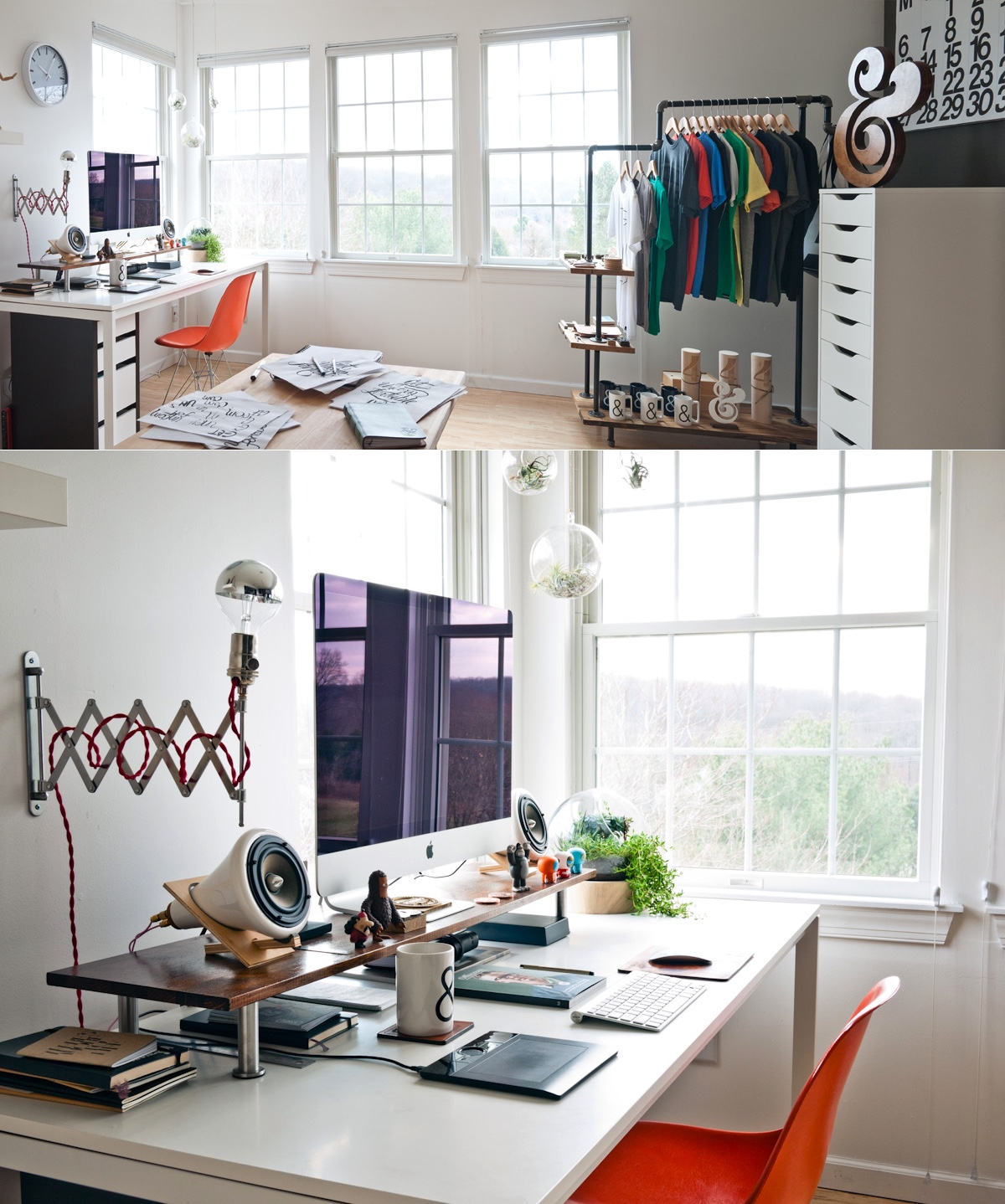 Interior Design Ideas For Home Office: Fashion-forward-home-office