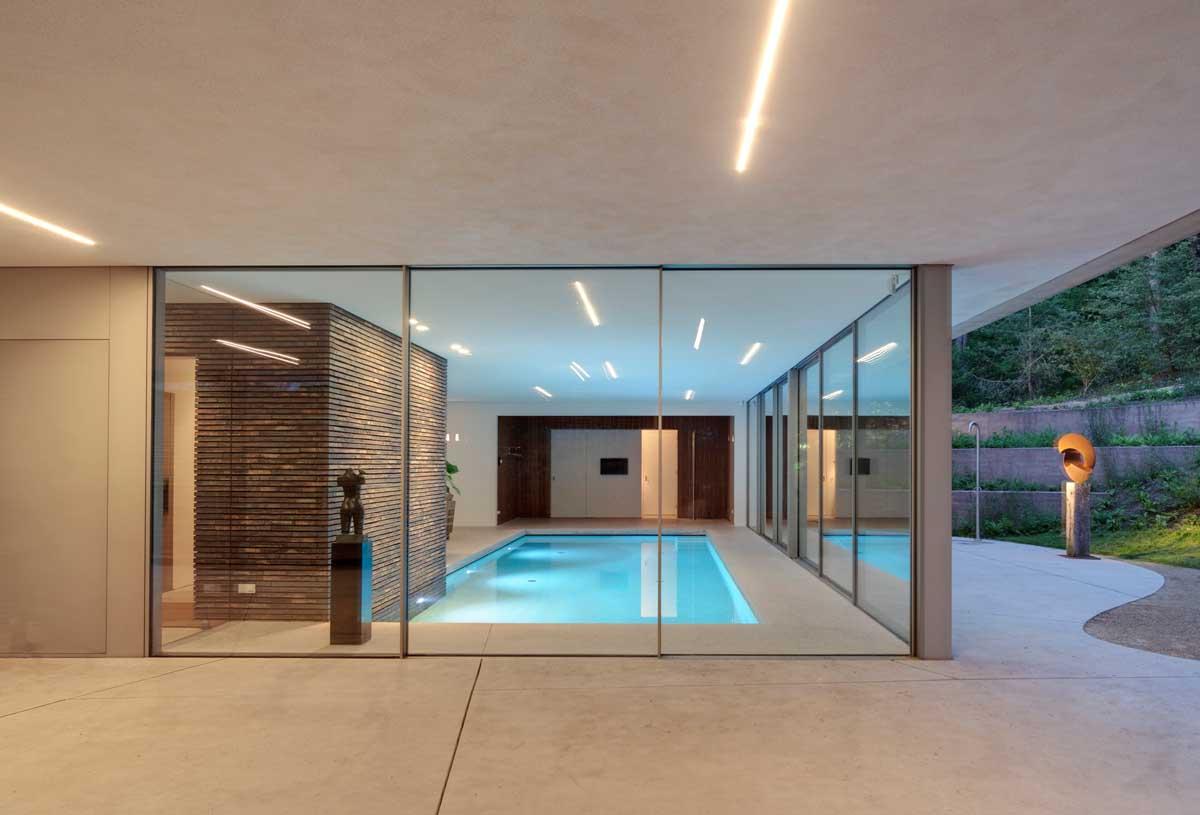 glass-enclosed-pool | Interior Design Ideas.