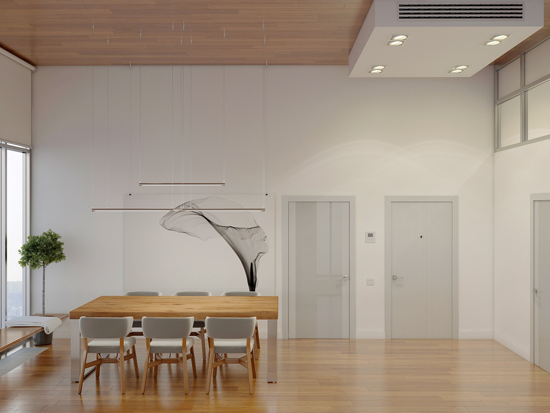 Ceiling Design Living Room Modern Simple